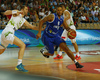 Gerald Lee (no.8) of Finland during basketball match of Adecco cup between Finland and Slovenia. Basketball match of Adecco cup between Finland and Slovenia was played in Bonifika arena in Koper, Slovenia, on Saturday, 22nd of August 2015.