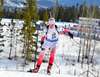Krystyna Guzik of Poland during women sprint race of IBU Biathlon World Cup in Canmore, Alberta, Canada. Men sprint race of IBU Biathlon World cup was held in Canmore, Alberta, Canada, on Friday, 5th of February 2016.
