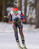 Laura Dahlmeier of Germany during women sprint race of IBU Biathlon World Cup in Canmore, Alberta, Canada. Men sprint race of IBU Biathlon World cup was held in Canmore, Alberta, Canada, on Friday, 5th of February 2016.
