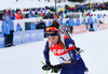 Dorothea Wierer of Italy during women mass start race of IBU Biathlon World Cup in Canmore, Alberta, Canada. Men sprint race of IBU Biathlon World cup was held in Canmore, Alberta, Canada, on Friday, 5th of February 2016.