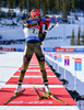 PREUSS Franziska, GER during mixed relay race of IBU Biathlon World Cup in Canmore, Alberta, Canada. Mixed relay race of IBU Biathlon World cup was held in Canmore, Alberta, Canada, on Sunday, 7th of February 2016.