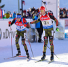 SCHEMPP Simon, GER, PEIFFER Arnd, GER during mixed relay race of IBU Biathlon World Cup in Canmore, Alberta, Canada. Mixed relay race of IBU Biathlon World cup was held in Canmore, Alberta, Canada, on Sunday, 7th of February 2016.