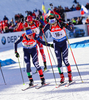 HOFER Lukas, ITA, WINDISCH Dominik, ITA during mixed relay race of IBU Biathlon World Cup in Canmore, Alberta, Canada. Mixed relay race of IBU Biathlon World cup was held in Canmore, Alberta, Canada, on Sunday, 7th of February 2016.