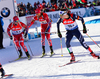 CHRISTIANSEN Vetle Sjastad, NOR, OS Alexander, NOR, WINDISCH Dominik, ITA during mixed relay race of IBU Biathlon World Cup in Canmore, Alberta, Canada. Mixed relay race of IBU Biathlon World cup was held in Canmore, Alberta, Canada, on Sunday, 7th of February 2016.