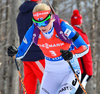 Mari Laukkanen of Finland during women sprint race of IBU Biathlon World Cup in Presque Isle, Maine, USA. Women sprint race of IBU Biathlon World cup was held in Presque Isle, Maine, USA, on Thursday, 11th of February 2016.