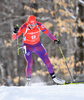 Susan Dunklee of USA during women sprint race of IBU Biathlon World Cup in Presque Isle, Maine, USA. Women sprint race of IBU Biathlon World cup was held in Presque Isle, Maine, USA, on Thursday, 11th of February 2016.