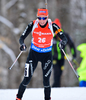Selina Gasparin of Switzerland during women sprint race of IBU Biathlon World Cup in Presque Isle, Maine, USA. Women sprint race of IBU Biathlon World cup was held in Presque Isle, Maine, USA, on Thursday, 11th of February 2016.