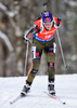 Miriam Goessner of Germany during women sprint race of IBU Biathlon World Cup in Presque Isle, Maine, USA. Women sprint race of IBU Biathlon World cup was held in Presque Isle, Maine, USA, on Thursday, 11th of February 2016.