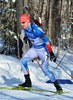 Matti Hakala of Finland during men sprint race of IBU Biathlon World Cup in Presque Isle, Maine, USA. Men sprint race of IBU Biathlon World cup was held in Presque Isle, Maine, USA, on Thursday, 11th of February 2016.