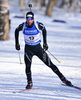 Serafin Wiestner of Switzerland during men sprint race of IBU Biathlon World Cup in Presque Isle, Maine, USA. Men sprint race of IBU Biathlon World cup was held in Presque Isle, Maine, USA, on Thursday, 11th of February 2016.