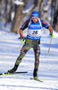 Andreas Birnbacher of Germany during men sprint race of IBU Biathlon World Cup in Presque Isle, Maine, USA. Men sprint race of IBU Biathlon World cup was held in Presque Isle, Maine, USA, on Thursday, 11th of February 2016.