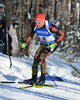 Arnd Pfeiffer of Germany during men sprint race of IBU Biathlon World Cup in Presque Isle, Maine, USA. Men sprint race of IBU Biathlon World cup was held in Presque Isle, Maine, USA, on Thursday, 11th of February 2016.