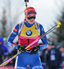 SOUKALOVA Gabriela CZE , IBU World Cup 8, Presque Isle, Maine, USA, women 10km pursuit, 12/02/2016 during women pursuit race of IBU Biathlon World Cup in Presque Isle, Maine, USA. Women pursuit race of IBU Biathlon World cup was held in Presque Isle, Maine, USA, on Friday, 12th of February 2016.