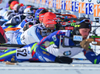 Tuomas Gronman of Finland during men pursuit race of IBU Biathlon World Cup in Presque Isle, Maine, USA. Men pursuit race of IBU Biathlon World cup was held in Presque Isle, Maine, USA, on Friday, 12th of February 2016.