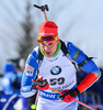 Ahti Toivanen of Finland during men pursuit race of IBU Biathlon World Cup in Presque Isle, Maine, USA. Men pursuit race of IBU Biathlon World cup was held in Presque Isle, Maine, USA, on Friday, 12th of February 2016.