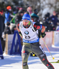 Andreas Birnbacher of Germany during men pursuit race of IBU Biathlon World Cup in Presque Isle, Maine, USA. Men pursuit race of IBU Biathlon World cup was held in Presque Isle, Maine, USA, on Friday, 12th of February 2016.