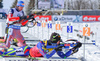 SHIPULIN Anton RUS , FOURCADE Martin FRA , IBU World Cup 8, Presque Isle, Maine, USA, Men 12.5km pursuit, 12/02/2016 during men pursuit race of IBU Biathlon World Cup in Presque Isle, Maine, USA. Men pursuit race of IBU Biathlon World cup was held in Presque Isle, Maine, USA, on Friday, 12th of February 2016.