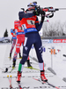 WINDISCH Dominik of Italy during men relay race of IBU Biathlon World Cup in Presque Isle, Maine, USA. Men relay race of IBU Biathlon World cup was held in Presque Isle, Maine, USA, on Saturday, 13th of February 2016.