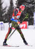 DOLL Benedikt of Germany during men relay race of IBU Biathlon World Cup in Presque Isle, Maine, USA. Men relay race of IBU Biathlon World cup was held in Presque Isle, Maine, USA, on Saturday, 13th of February 2016.