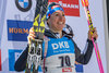 Alexia Runggaldier of Italy during Flower Ceremony of the individual women of the IBU Biathlon World Championships at the Biathlonarena in Hochfilzen, Austria on 2017/02/15.