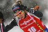 Elisa Gasparin of Switzerland during the women 7.5km sprint race of IBU Biathlon World Cup in Hochfilzen, Austria.  Women 7.5km sprint race of IBU Biathlon World cup was held in Hochfilzen, Austria, on Friday, 8th of December 2017.