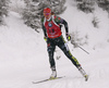 Denise Herrmann of Germany during the women 7.5km sprint race of IBU Biathlon World Cup in Hochfilzen, Austria.  Women 7.5km sprint race of IBU Biathlon World cup was held in Hochfilzen, Austria, on Friday, 8th of December 2017.