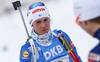 Tero Seppaelae of Finland during zeroing before start of the men relay race of IBU Biathlon World Cup in Hochfilzen, Austria.  Men relay race of IBU Biathlon World cup was held in Hochfilzen, Austria, on Sunday, 10th of December 2017.