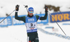 Second placed Team Germany with Simon Schempp of Germany during the men relay race of IBU Biathlon World Cup in Hochfilzen, Austria.  Men relay race of IBU Biathlon World cup was held in Hochfilzen, Austria, on Sunday, 10th of December 2017.