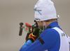 Tero Seppala of Finland during zeroing before start of the men individual race of IBU Biathlon World Cup in Pokljuka, Slovenia. Men 20km individual race of IBU Biathlon World cup 2018-2019 was held in Pokljuka, Slovenia, on Wednesday, 5th of December 2018.