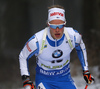 Tuomas Gronman of Finland competes during the men individual race of IBU Biathlon World Cup in Pokljuka, Slovenia. Men 20km individual race of IBU Biathlon World cup 2018-2019 was held in Pokljuka, Slovenia, on Thursday, 6th of December 2018.