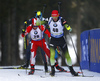 Jakov Fak of Slovenia competes during the men individual race of IBU Biathlon World Cup in Pokljuka, Slovenia. Men 20km individual race of IBU Biathlon World cup 2018-2019 was held in Pokljuka, Slovenia, on Thursday, 6th of December 2018.