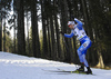 Olli Hiidensalo of Finland competes during the men individual race of IBU Biathlon World Cup in Pokljuka, Slovenia. Men 20km individual race of IBU Biathlon World cup 2018-2019 was held in Pokljuka, Slovenia, on Thursday, 6th of December 2018.
