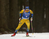 Linn Persson of Sweden competes in the women individual race of IBU Biathlon World Cup in Pokljuka, Slovenia. Women 15km individual race of IBU Biathlon World cup 2018-2019 was held in Pokljuka, Slovenia, on Thursday, 6th of December 2018.