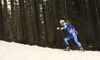 Jenny Fellman of Finland competes in the women individual race of IBU Biathlon World Cup in Pokljuka, Slovenia. Women 15km individual race of IBU Biathlon World cup 2018-2019 was held in Pokljuka, Slovenia, on Thursday, 6th of December 2018.