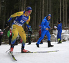 Emma Nilsson of Sweden competes in the women individual race of IBU Biathlon World Cup in Pokljuka, Slovenia. Women 15km individual race of IBU Biathlon World cup 2018-2019 was held in Pokljuka, Slovenia, on Thursday, 6th of December 2018.