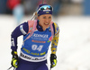 Yuliia Dzhima of Ukraine competes in the women individual race of IBU Biathlon World Cup in Pokljuka, Slovenia. Women 15km individual race of IBU Biathlon World cup 2018-2019 was held in Pokljuka, Slovenia, on Thursday, 6th of December 2018.