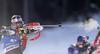 Michal Slesingr of Czech during zeroing before start of the men sprint race of IBU Biathlon World Cup in Pokljuka, Slovenia. Men sprint race of IBU Biathlon World cup 2018-2019 was held in Pokljuka, Slovenia, on Friday, 7th of December 2018.