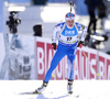 Kaisa Makarainen of Finland competes during the women sprint race of IBU Biathlon World Cup in Pokljuka, Slovenia. Women sprint race of IBU Biathlon World cup 2018-2019 was held in Pokljuka, Slovenia, on Saturday, 8th of December 2018.