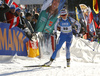 Venla Lehtonen of Finland competes during the women sprint race of IBU Biathlon World Cup in Pokljuka, Slovenia. Women sprint race of IBU Biathlon World cup 2018-2019 was held in Pokljuka, Slovenia, on Saturday, 8th of December 2018.