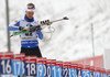 Tuomas Gronman of Finland during zeroing before start of the men pursuit race of IBU Biathlon World Cup in Pokljuka, Slovenia. Men pursuit race of IBU Biathlon World cup 2018-2019 was held in Pokljuka, Slovenia, on Sunday, 9th of December 2018.