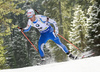 Tuomas Gronman of Finland competes during the men pursuit race of IBU Biathlon World Cup in Pokljuka, Slovenia. Men pursuit race of IBU Biathlon World cup 2018-2019 was held in Pokljuka, Slovenia, on Sunday, 9th of December 2018.