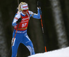 Mari Eder of Finland competes during the women pursuit race of IBU Biathlon World Cup in Pokljuka, Slovenia. Women pursuit race of IBU Biathlon World cup 2018-2019 was held in Pokljuka, Slovenia, on Sunday, 9th of December 2018.