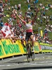 1st placed Victor Gonzalez de la Parte of Spain during the Tour of Austria, 6th Stage, from Lienz to the Kitzbuhler Horn, Kitzbuhel, Austria on 2015/07/10.
