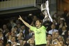 Real Madrid captain and goalkeeper Iker Casillas receives the cup during the Final Match of the Spanish Kings Cup, Copa del Rey, between Real Madrid and Fc Barcelona at the Mestalla Stadion in Valencia, Spain on 2014/04/16.