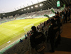 Stozice Arena in Ljubljana during return match of the first round qualifiers match for UEFA Europa League between NK Olimpija and VPS Vaasa. Return match between NK Olimpija, Ljubljana, Slovenia, and VPS Vaasa, Vaasa, Finland, was played on Thursday, 6th of July 2017 in Stozice Arena in Ljubljana, Slovenia.