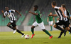 Abass Issah of NK Olimpija (M) during return match of the first round qualifiers match for UEFA Europa League between NK Olimpija and VPS Vaasa. Return match between NK Olimpija, Ljubljana, Slovenia, and VPS Vaasa, Vaasa, Finland, was played on Thursday, 6th of July 2017 in Stozice Arena in Ljubljana, Slovenia.