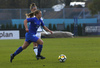 Emma Siren of Finland during UEFA European Women Under-17 Championship match between Finland and Slovenia. UEFA European Women Under-17 Championship match between Finland and Italy was played on Sunday, 29th of October 2017 in Kranj, Slovenia.