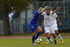 Vilma Koivisto of Finland (L) and Benedetta De Biase of Italy (R) during UEFA European Women Under-17 Championship match between Finland and Slovenia. UEFA European Women Under-17 Championship match between Finland and Italy was played on Sunday, 29th of October 2017 in Kranj, Slovenia.