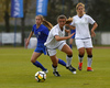 Vilma Koivisto of Finland (L) and Paola Boglioni of Italy (R) during UEFA European Women Under-17 Championship match between Finland and Slovenia. UEFA European Women Under-17 Championship match between Finland and Italy was played on Sunday, 29th of October 2017 in Kranj, Slovenia.