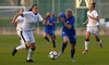 Jenni Kantanen of Finland during UEFA European Women Under-17 Championship match between Finland and Slovenia. UEFA European Women Under-17 Championship match between Finland and Italy was played on Sunday, 29th of October 2017 in Kranj, Slovenia.